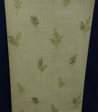 Ferns on Vertical Lined Wallpaper #72300 (Lot of 4 Double Rolls)