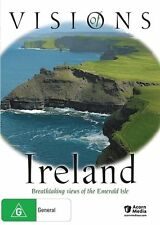 VISIONS OF IRELAND * NEW SEALED ALL REGION DVD  * AERIAL TOUR * NATURAL BEAUTY