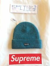 *** SUPREME Mohair Beanie ** F/W 2016 ** TEAL *** RARE SOLD OUT ***