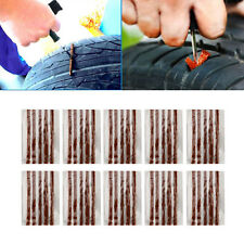 Lots 50PCS Tubeless Tire Tyre Puncture Repair Kit Strips Plug Car Van Truck Bike