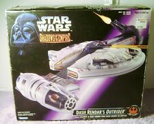 1996 Star Wars Shadows Of The Empire DASH RENDAR'S OUTRIDER Vehicle Opened Box