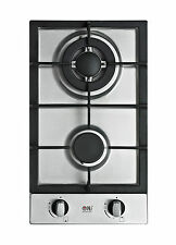 Domino 302-S 30cm Built-in Gas hob 2 burner Cooktop Stainless steel NG FFD NEW