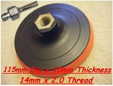 """Velcro Backing Pad 115mm For 4 1/2"""" & 125mm  Angle Grinders with MANDREL"""