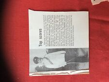 m2r ephemera  1965 article bandmaster michael lane hussars etheopia scores