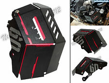 Radiator Water Coolant Resevoir Tank Cover Red For YAMAHA MT-09 Tracer FZ09 FJ09