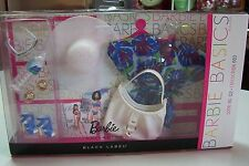 2011 Barbie Basics Swimwear Accessory Pak Collection #3 Blue CoverUp Look #02