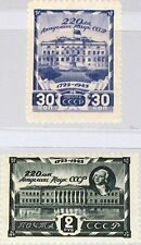 Russia Unione Sovietica 1945 963-64 987-88 220th Ann Academy of Science Accademia MNH