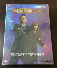 NEW Doctor Who Complete Fourth Series Season 4 Four 2008 6-Disc DVD Set Region 1