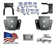 "2002-2008 Dodge Ram 1500 2WD 4"" Lowering Shackles Hangers Lowering Kit"