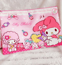 Kawaii Bowknot My Melody Kitty Face A4 File Packet Filing Paper Bag Storage Bag