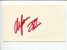 Alfonso Ribeiro The Fresh Prince Of Bel Air Silver Spoons Signed Autograph