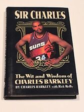 CHARLES BARKLEY SIGNED & #34 Sir Charles 1994 BOOK