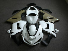 Unpainted Drilled ABS Injection Bodywork Fairing Kit for KAWASAKI ZX6R 636 05 06