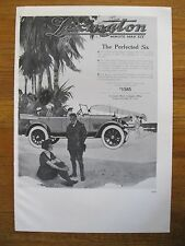 "1974 PRINT/POSTER/AD~1918 LEXINGTON~1918 PAIGE~DOUBLE SIDE~15""x11"""