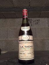 """BOUTEILLE DE """"LA TACHE""""  DOMAINE DE LA ROMANEE - CONTI   - 1975"""