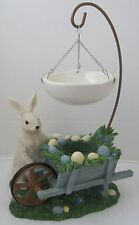 Yankee Candle 2015 Easter Collection Tart Burner Wheelbarrow Bunny Item 1341374