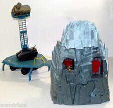 CAPTAIN POWER BASE pour figurines années 80 et véhicules MATTEL action figure