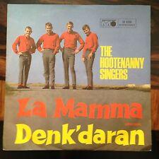 7'Hootenanny Singers  La Mamma/Denk'daran  Metronome TOP*ABBA