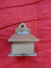 DOLLS' HOUSE MINIATURES - VINTAGE SALT?/CANDLE? BOX