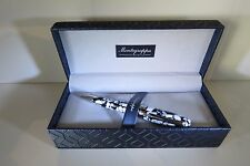 MONTEGRAPPA FORTUNA MOSAICO ROME BALLPOINT PEN, SPECIAL EDITION,NEW LAUNCH,MINT.