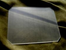 """4x5"""" Borosilicate Ground Glass with Clipped Corners,  1/2"""" trans. Grid"""