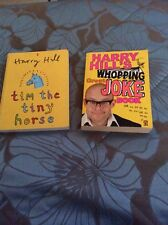 Harry Hill's whopping great joke book and Tim the Tiny Horse VGC