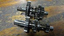59-62 HONDA C100 SUPER CUB HM689 TRANSMISSION GEAR SHAFT ASSEMBLY