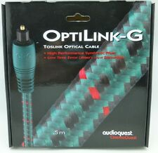 Audioquest OptiLink-G.3  0.5 meter Digital Toslink Optical