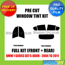 BMW 1 Series E87 5-door 2004-2011 COMPLETO TASTINI finestra Tinta KIT