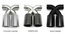 FABSPEED | Porsche 981/987.2/987 Boxster/Cayman Deluxe Bolt-On Tips (2005-2015)