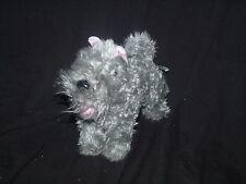 """American Girl Argos Cairn Terrier Marie Grace Gray Dog Plush Retired 2011 10"""""""