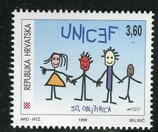 CROATIA 1996 UNICEF 50th ANN/ORGANIZATIONS/CHILDREN/UNITED NATIONS/YOUTH/AID