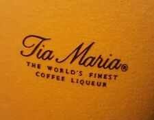 Vintage 80s Tia Maria Coffee Liqueur T-Shirt Liquor Drinking Jamaica Cocktail