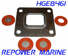 Riser / Elbow Gasket for Mercruiser Dry Joint Exhaust 27-864850A02, 27-864549A02