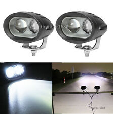 2x 4D 20W LED Spot Beam Work Light Bar Lamp For ATV Polaris Ranger Sportsman RZR