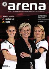 Frauen-Länderspiel 22.07.2016 Deutschland - Ghana, DFB-Arena 2/2016 Paderborn