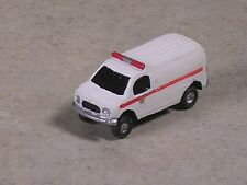 N Scale 2012 White with Red Stripe Ford Fire Service Van.