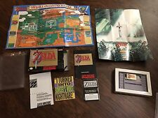 The Legend of Zelda: A Link to the Past (Super Nintendo SNES) Complete VGC
