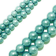 Magnetic Hematite Beads Turquoise Blue Round 4mm Beads Strands