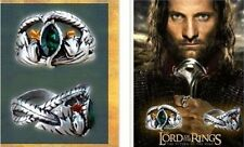 Men Cool Classics Film Crystal Lord of the Rings LOTR Aragorn's Ring of Barahir