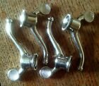 NOS CYCLO TYPE ENGLISH CHROMED WINGNUTS