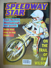 SPEEDWAY STAR-On The Trail of Ray Wilson- Reviews Middlesbrough, 23 January 1993