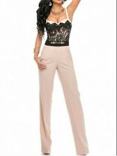 Sweetheart Lace Top Trendy Jumpsuit LC60390 women sexy party winter overall