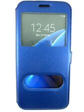Etui Housse Coque Pochette View Case BLEU NUIT  pour Samsung Galaxy A5 2016
