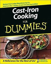 Cast Iron Cooking For Dummies, Tracy Barr, Good Book