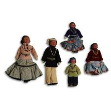 Group of five Navajo Indian Mission dolls, St. Michaels, AZ, 1937 Lot 45
