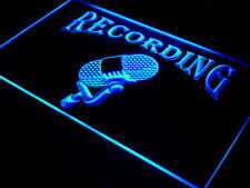 i206-b Recording On The Air Radio Studio Neon Light Sign