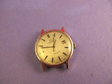 OMEGA VINTAGE STEEL AUTOMATIC 166098 MENS CALIBER 1481 WATCH NO RESERVE