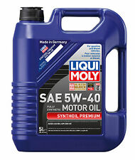 Liqui Moly Synthoil Premium SAE 5W-40 Fully Synthetic Engine Oil 5L 2041