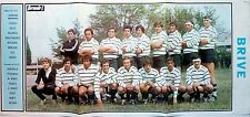 EQUIPE DE RUGBY DE BRIVE =  POSTER 3 pages 1973 // FRENCH CLIPPING